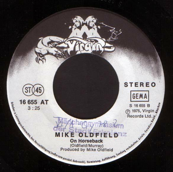 Mike Oldfield - In Dulci Jubilo (The Mike Oldfield Christmas EP)
